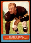 1963 Topps #124  Buddy Dial  Front Thumbnail