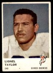 1961 Fleer #147  Lionel Taylor  Front Thumbnail