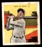 1933 Tattoo Orbit R305 #25  George Haas   Front Thumbnail
