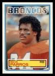 1983 Topps #266  Rick Parros  Front Thumbnail