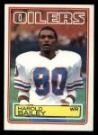 1983 Topps #272  Harold Bailey  Front Thumbnail