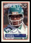 1983 Topps #345  Johnny Lam Jones  Front Thumbnail