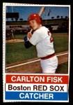 1976 Hostess #64  Carlton Fisk  Front Thumbnail