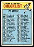 1966 Topps #517 WHT  Checklist 7 Front Thumbnail
