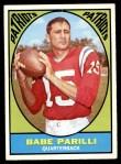 1967 Topps #2  Babe Parilli  Front Thumbnail