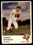 1961 Fleer #202  Johnny Robinson  Front Thumbnail