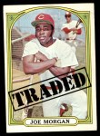 1972 Topps #752   -  Joe Morgan Traded Front Thumbnail