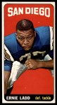 1965 Topps #164  Ernie Ladd  Front Thumbnail