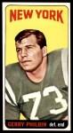 1965 Topps #124  Gerry Philbin  Front Thumbnail