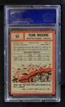 1962 Topps #65  Tom Moore  Back Thumbnail