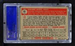 1952 Topps #45 RED Eddie Joost  Back Thumbnail