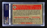 1952 Topps #376  Faye Throneberry  Back Thumbnail