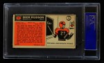 1965 Topps #31  Dick Hudson  Back Thumbnail
