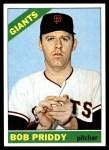 1966 Topps #572  Bob Priddy  Front Thumbnail