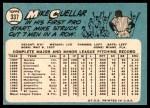 1965 Topps #337  Mike Cuellar  Back Thumbnail