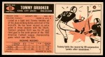 1965 Topps #93  Tommy Brooker  Back Thumbnail