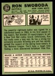 1967 Topps #264  Ron Swoboda  Back Thumbnail