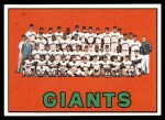 1967 Topps #516   Giants Team Front Thumbnail