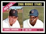 1966 Topps #456   -  Joe Foy / Darrell Brandon Red Sox Rookies Front Thumbnail