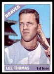 1966 Topps #408  Lee Thomas  Front Thumbnail