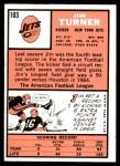1966 Topps #103  Jim Turner  Back Thumbnail