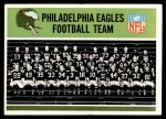 1965 Philadelphia #127   Eagles Team Front Thumbnail