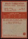 1965 Philadelphia #110  Fran Tarkenton    Back Thumbnail