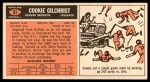 1965 Topps #51  Cookie Gilchrist  Back Thumbnail