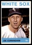 1964 Topps #340  Joe Cunningham  Front Thumbnail