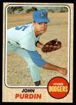 1968 Topps #336  John Purdin  Front Thumbnail