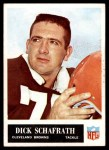 1965 Philadelphia #40  Dick Schafrath  Front Thumbnail