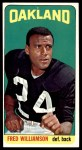 1965 Topps #152  Fred Williamson  Front Thumbnail