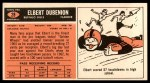 1965 Topps #28  Elbert Dubenion  Back Thumbnail
