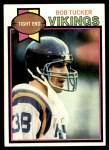 1979 Topps #518  Bob Tucker  Front Thumbnail