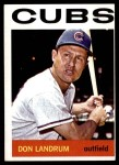 1964 Topps #286  Don Landrum  Front Thumbnail