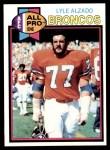 1979 Topps #420  Lyle Alzado  Front Thumbnail