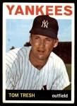 1964 Topps #395  Tom Tresh  Front Thumbnail