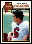 1979 Topps #490  John James  Front Thumbnail