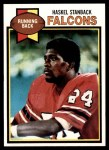1979 Topps #237  Haskel Stanback  Front Thumbnail