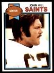 1979 Topps #43  John Hill  Front Thumbnail