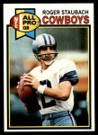 1979 Topps #400  Roger Staubach  Front Thumbnail