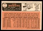 1966 Topps #412  Sam Bowens  Back Thumbnail