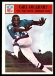 1966 Philadelphia #125  Spider Lockhart  Front Thumbnail
