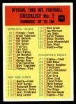 1965 Philadelphia #198   Checklist 2 Front Thumbnail