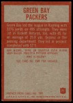 1965 Philadelphia #71   Packers Team Back Thumbnail