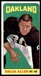 1965 Topps #132  Dalva Allen  Front Thumbnail