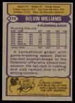 1979 Topps #370   -  Delvin Williams All-Pro Back Thumbnail