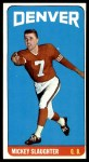 1965 Topps #63  Mickey Slaughter  Front Thumbnail