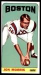 1965 Topps #14  Jon Morris  Front Thumbnail