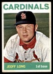1964 Topps #497  Jeoff Long  Front Thumbnail